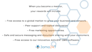 list of reasons why people should become mentors on jomo247