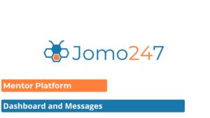 Mentor Platform, Dashboard and Messages Image
