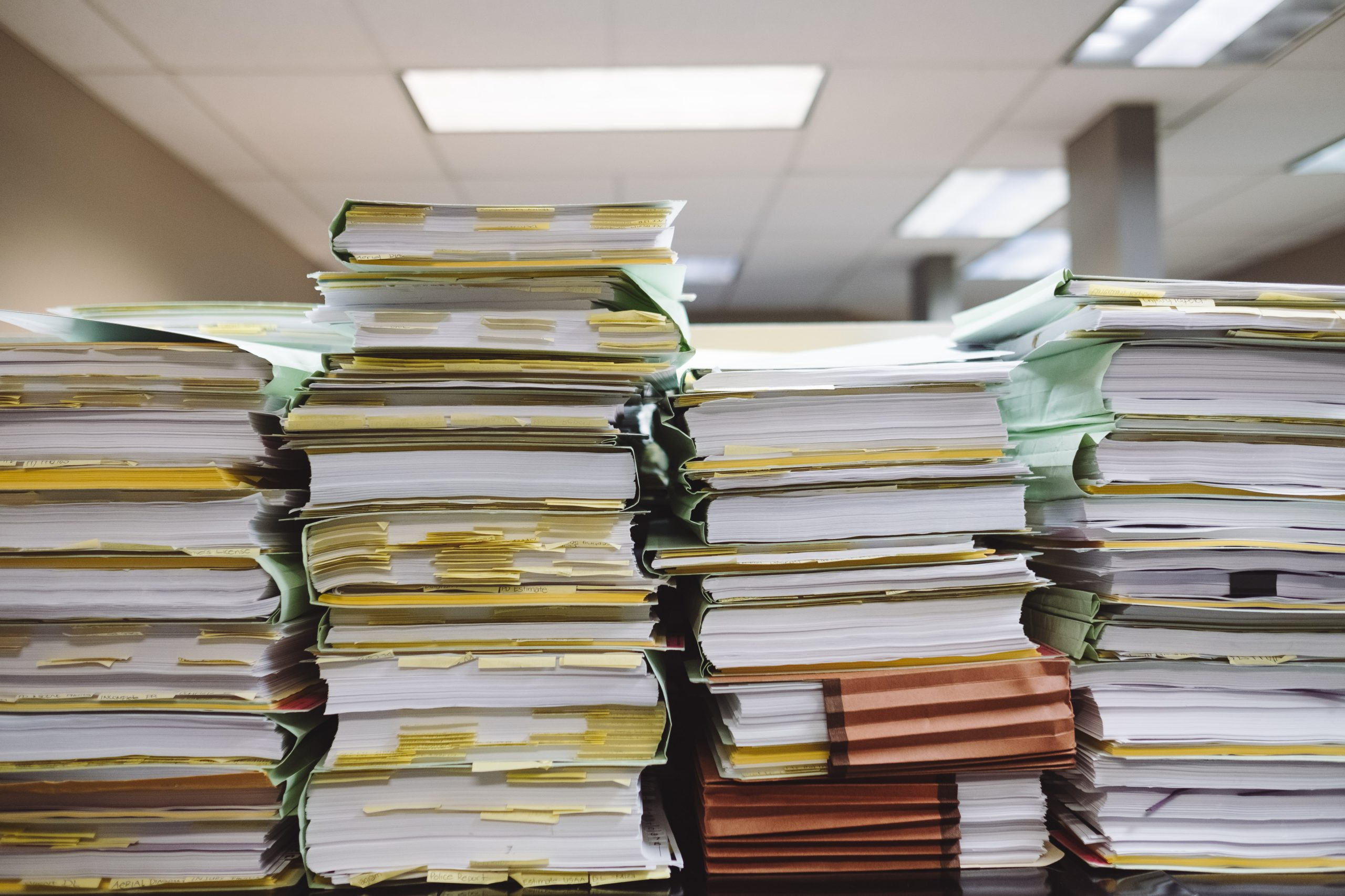 ISO 9001 paperwork quality management system