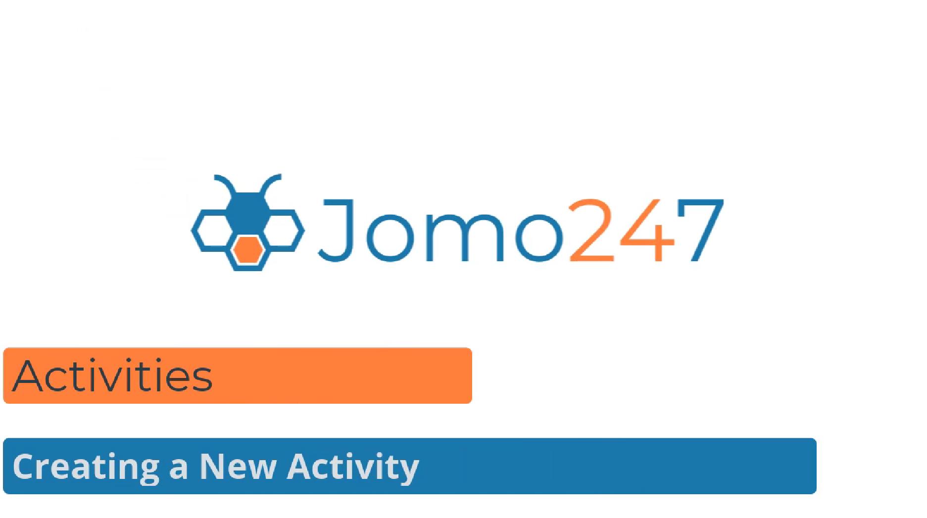 qms software tutorials Creating a new activity