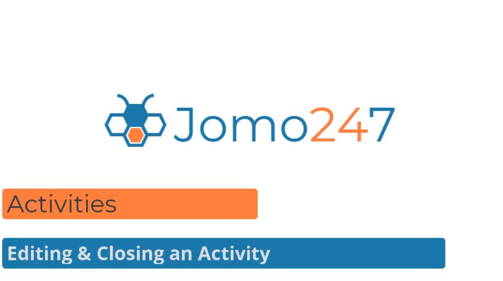 qms software tutorials editing and closing an activity