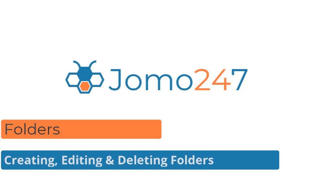 QMS software tutorial Folders