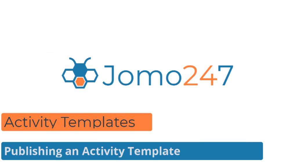QMS Software Tutorials Publishing an Activity Template